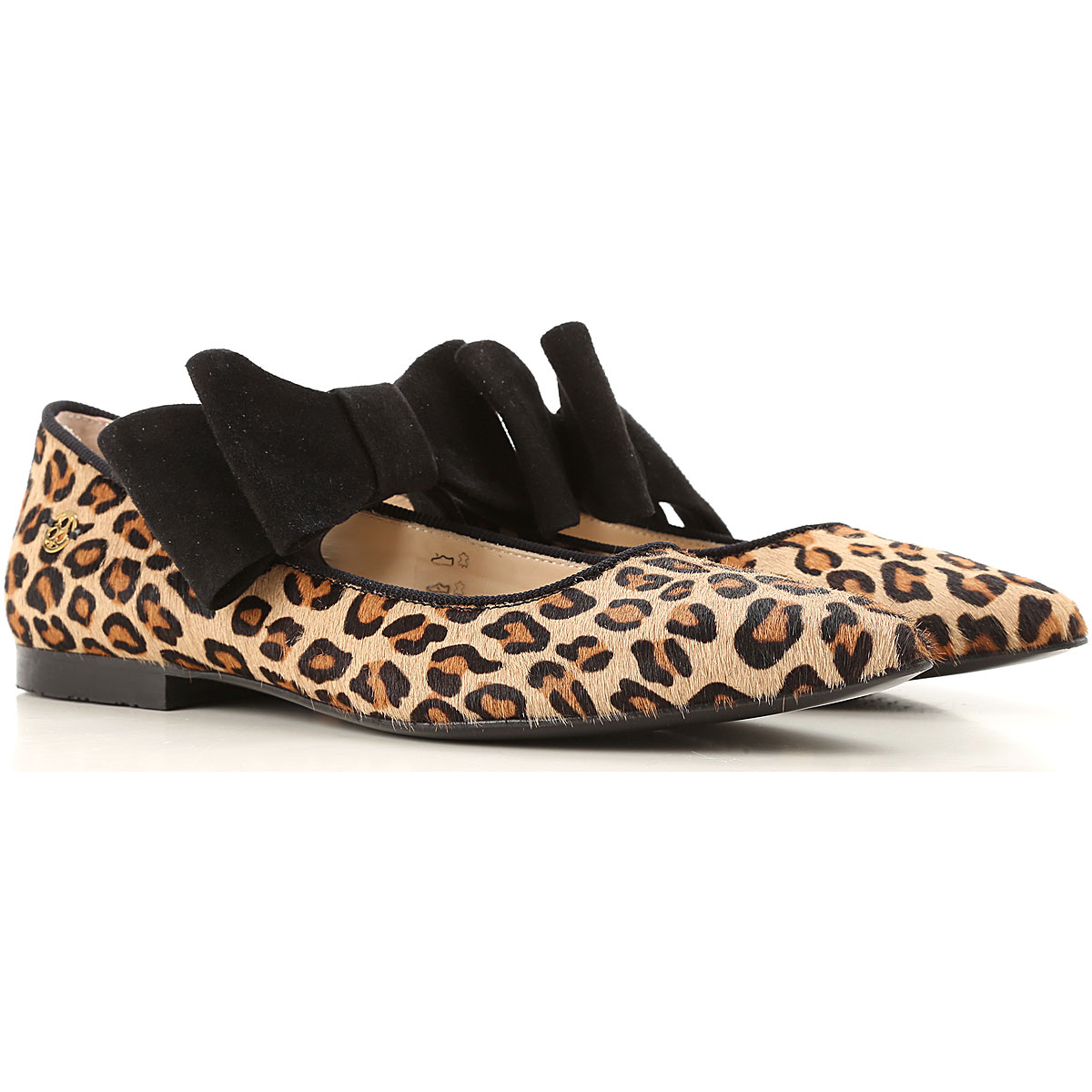 Florens Kids Shoes for Girls On Sale, Leopard, Leather, 2019, 30 31 32 33 34 35 36 37 38