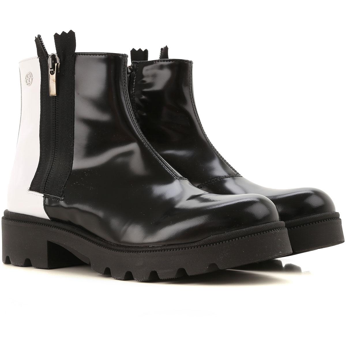Florens Kids Shoes for Girls On Sale, Black, Rubber, 2019, 30 31 32 33 34 35 36 37 38