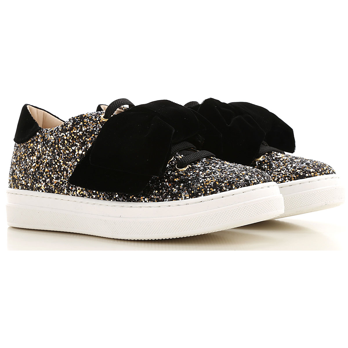 Florens Kids Shoes for Girls On Sale, Silver, Leather, 2019, 28 29 30 31 32 33 34 35 36 37 38