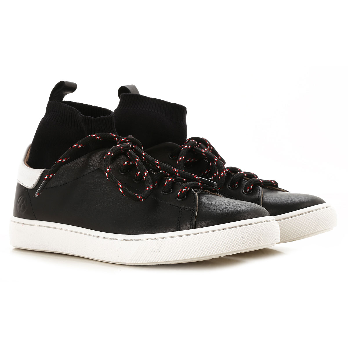Image of Florens Kids Shoes for Boys, Black, Leather, 2017, 31 32 33 34 35 36 37 38