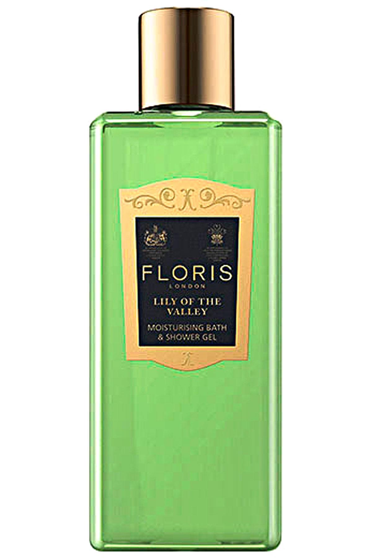 Floris London Beauty for Women On Sale, Lily Of The Valley - Bath & Shower Gel - 250 Ml, 2019, 250 ml
