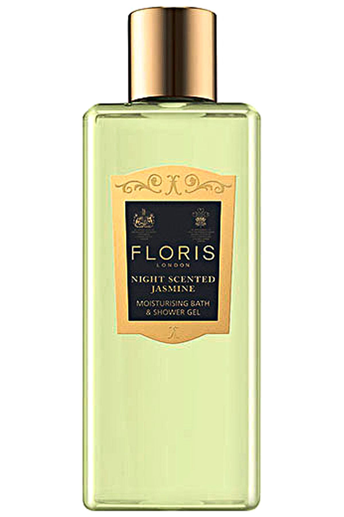 Floris London Beauty for Women On Sale, Night Scented Jasmine - Bath & Shower Gel - 250 Ml, 2019, 250 ml