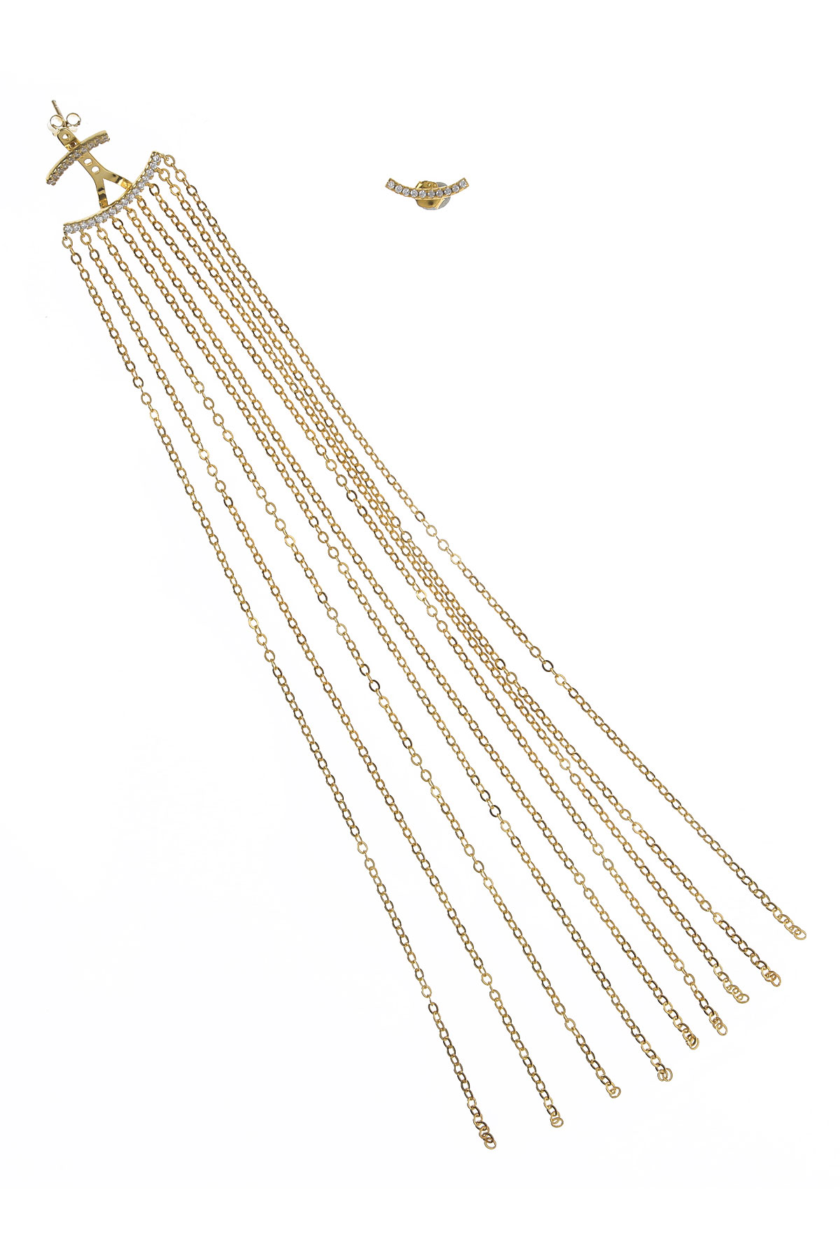 Francesca Angelone Earrings for Women On Sale, Yellow Gold, Silver 925, 2019