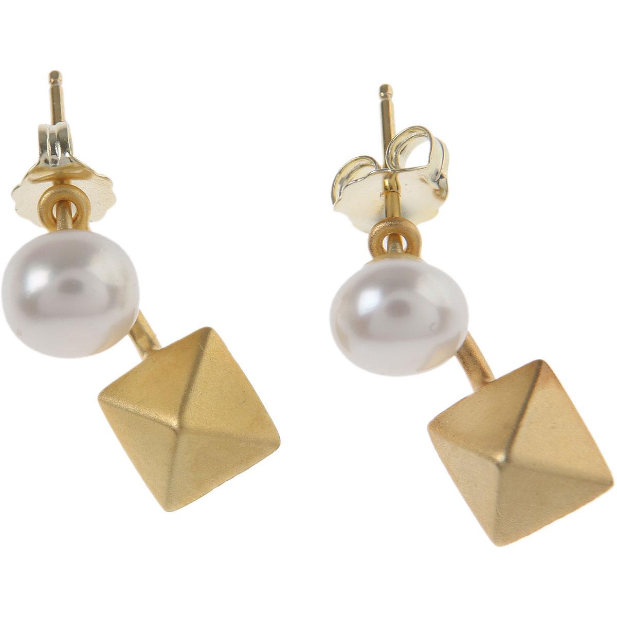 Francesca Angelone Earrings for Women On Sale, Gold, Silver 925, 2019