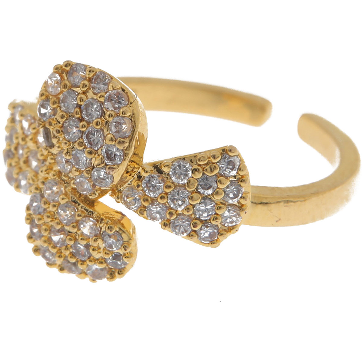 Francesca Angelone Ring for Women On Sale, Yellow Gold, Silver 925, 2019