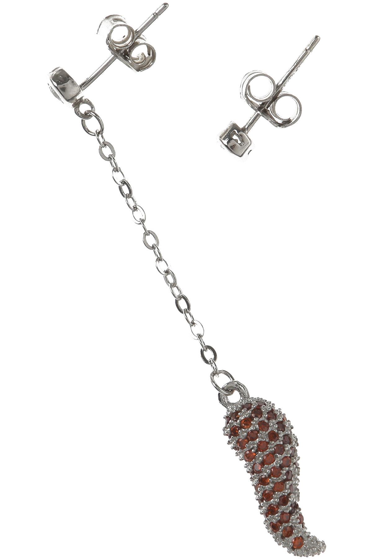 Francesca Angelone Earrings for Women On Sale, Silver, Silver 925, 2019