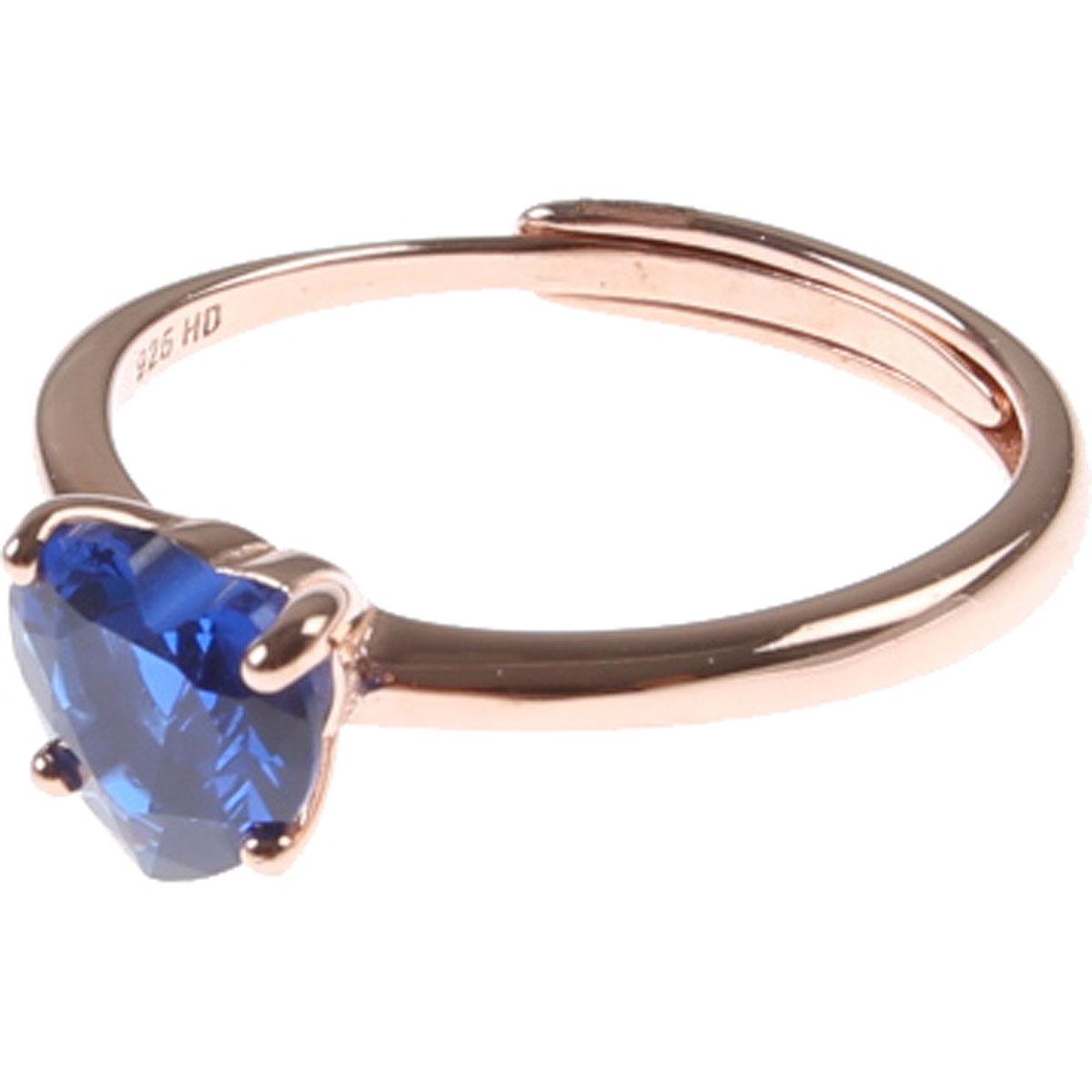 Francesca Angelone Ring for Women On Sale, Blue Dark, Silver 925, 2019