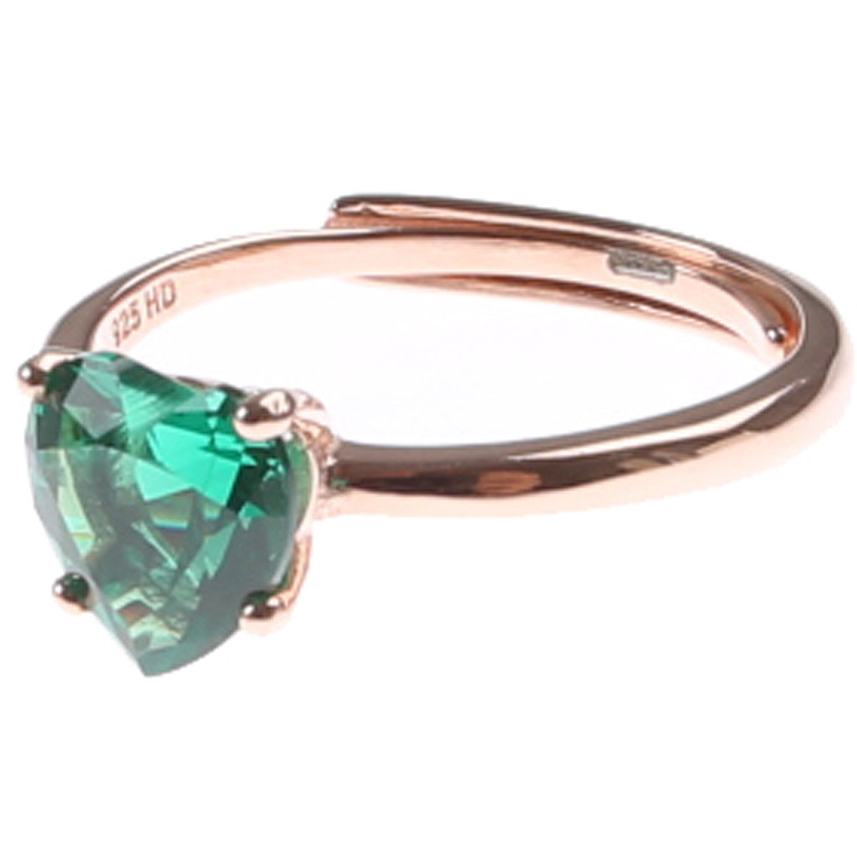 Francesca Angelone Ring for Women On Sale, Green, Silver 925, 2019
