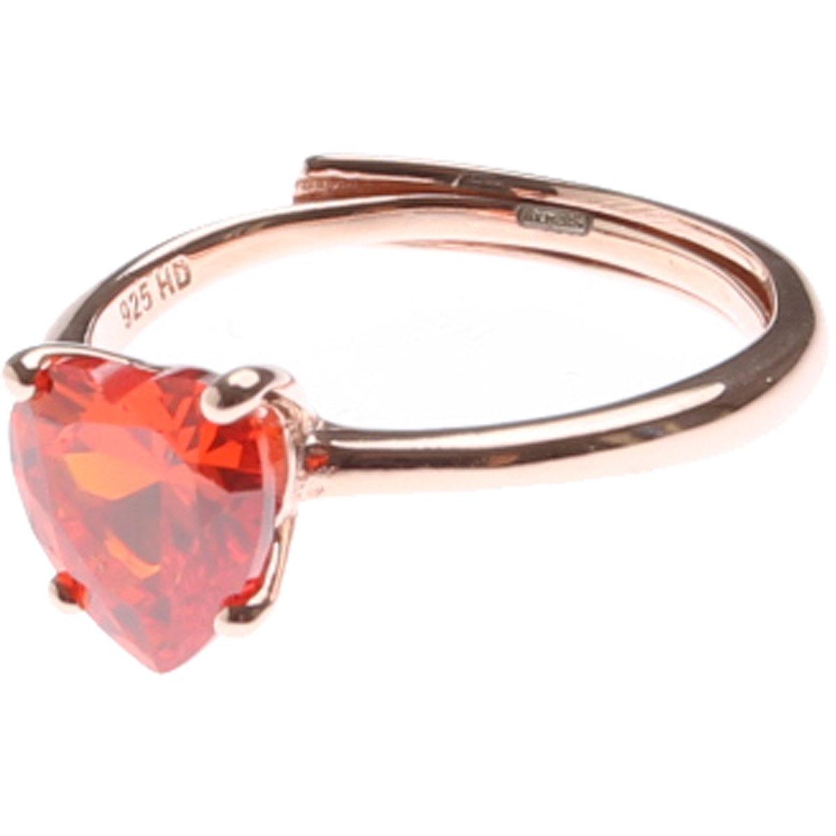 Francesca Angelone Ring for Women On Sale, Orange, Silver 925, 2019