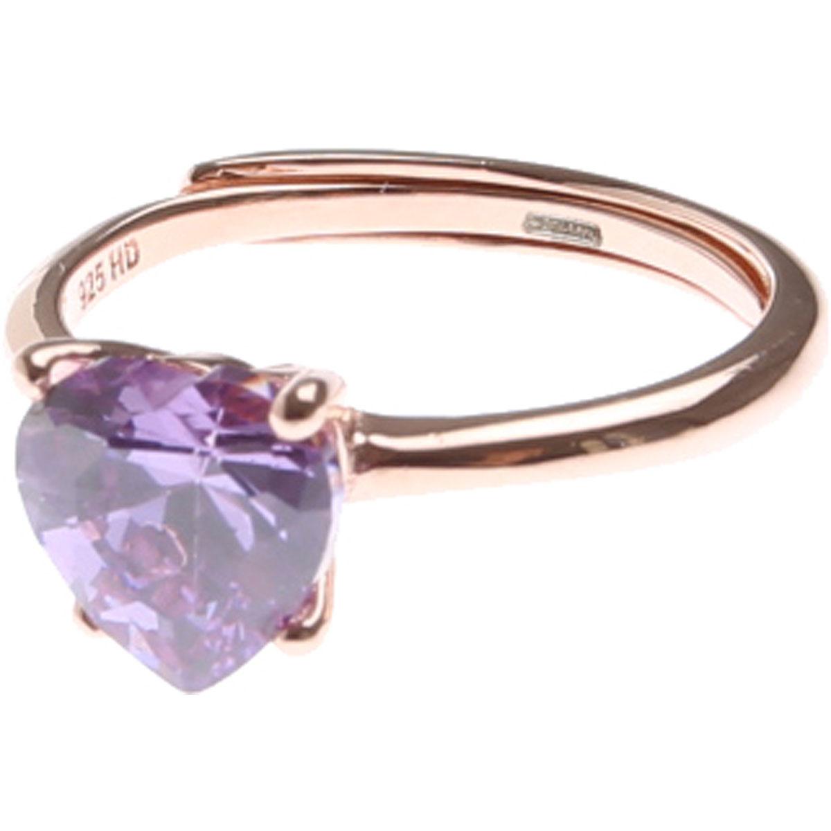 Francesca Angelone Ring for Women On Sale, Violet, Silver 925, 2019