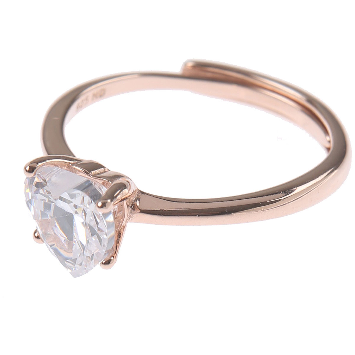 Francesca Angelone Ring for Women On Sale, White, Silver 925, 2019