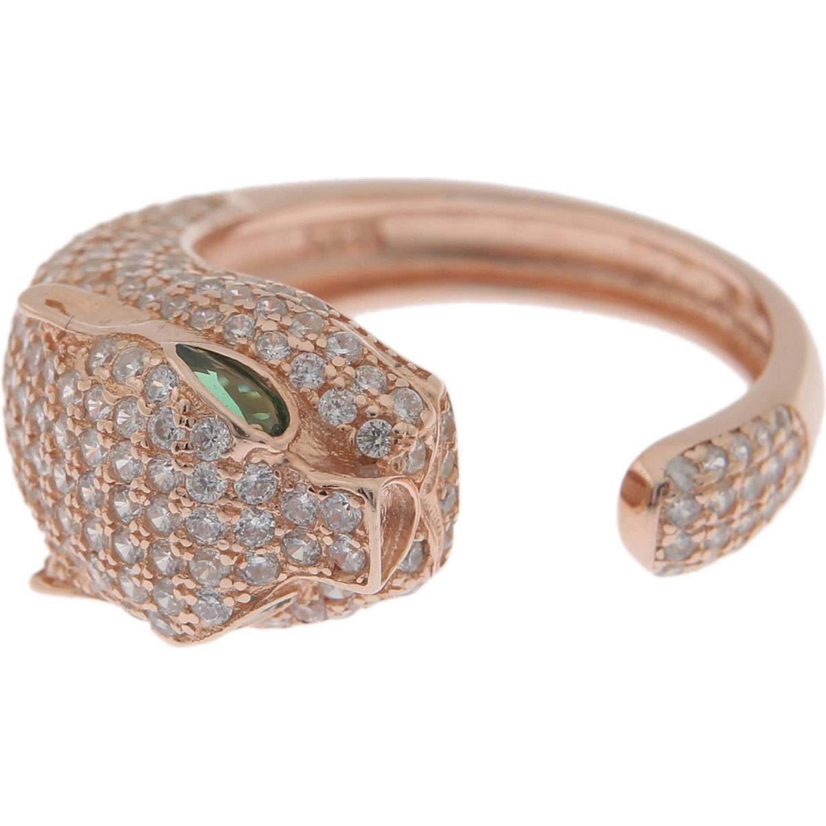 Francesca Angelone Ring for Women On Sale, Gold Pink, Silver 925, 2019