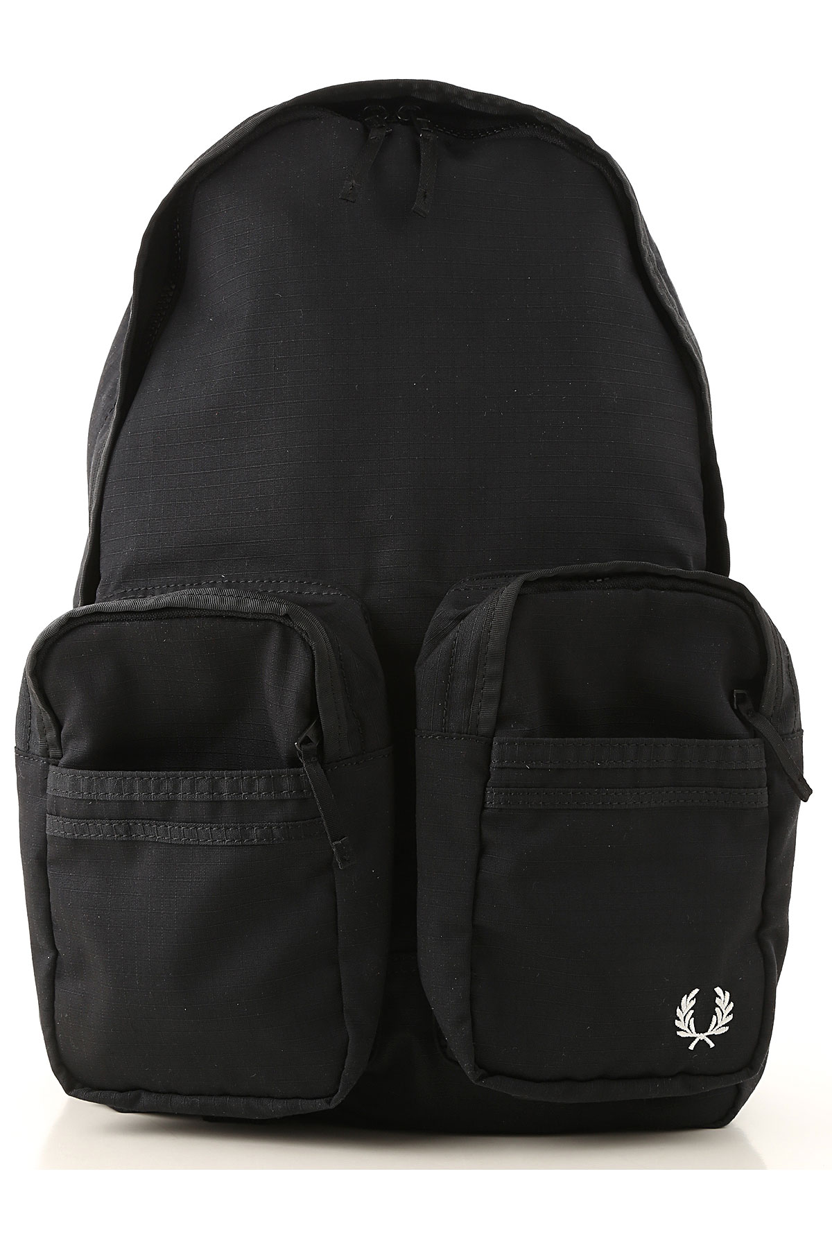 Fred Perry Backpack for Men On Sale, Black, Fabric, 2019