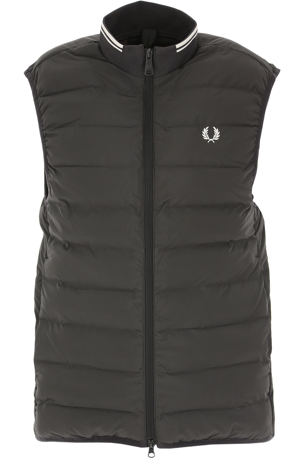 Fred Perry Jacket for Men On Sale, blackboard, polyester, 2019, M S XS