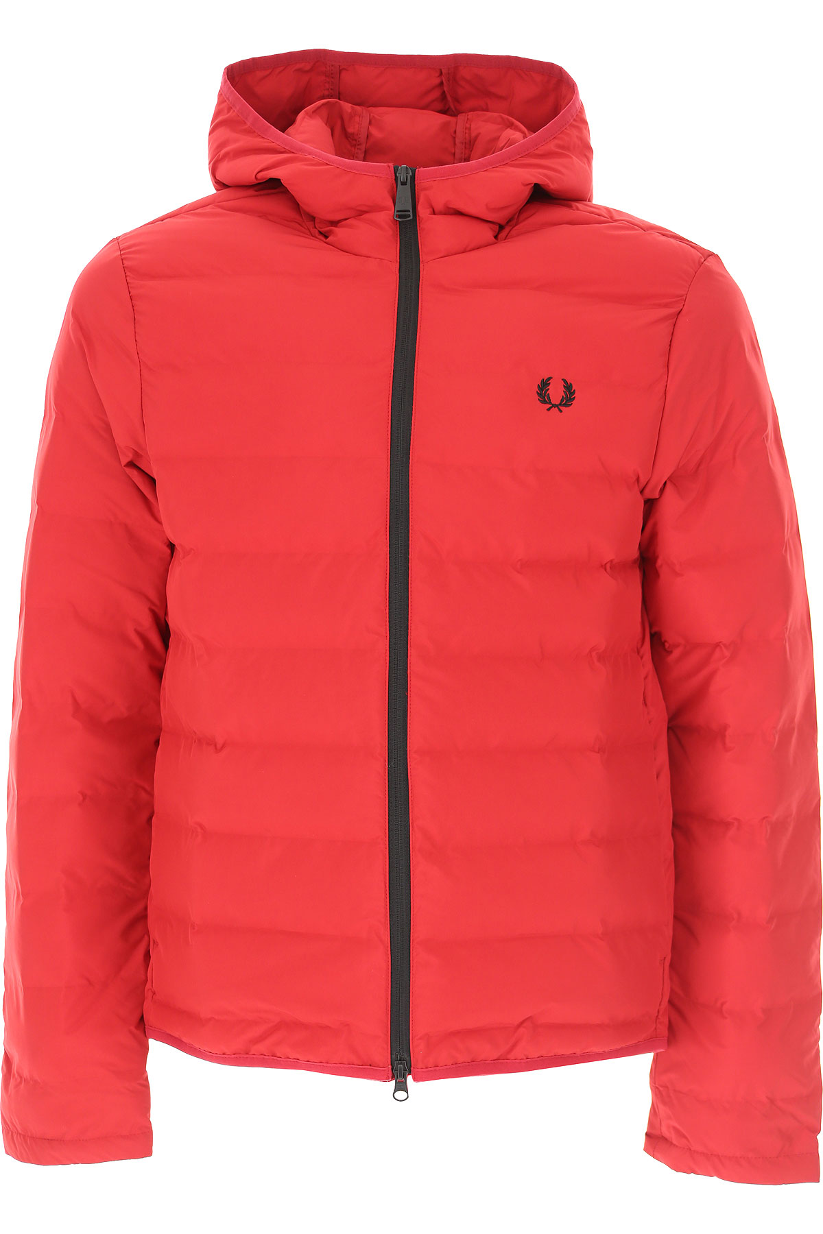 Fred Perry Jacket for Men On Sale, Red, polyester, 2019, L M S
