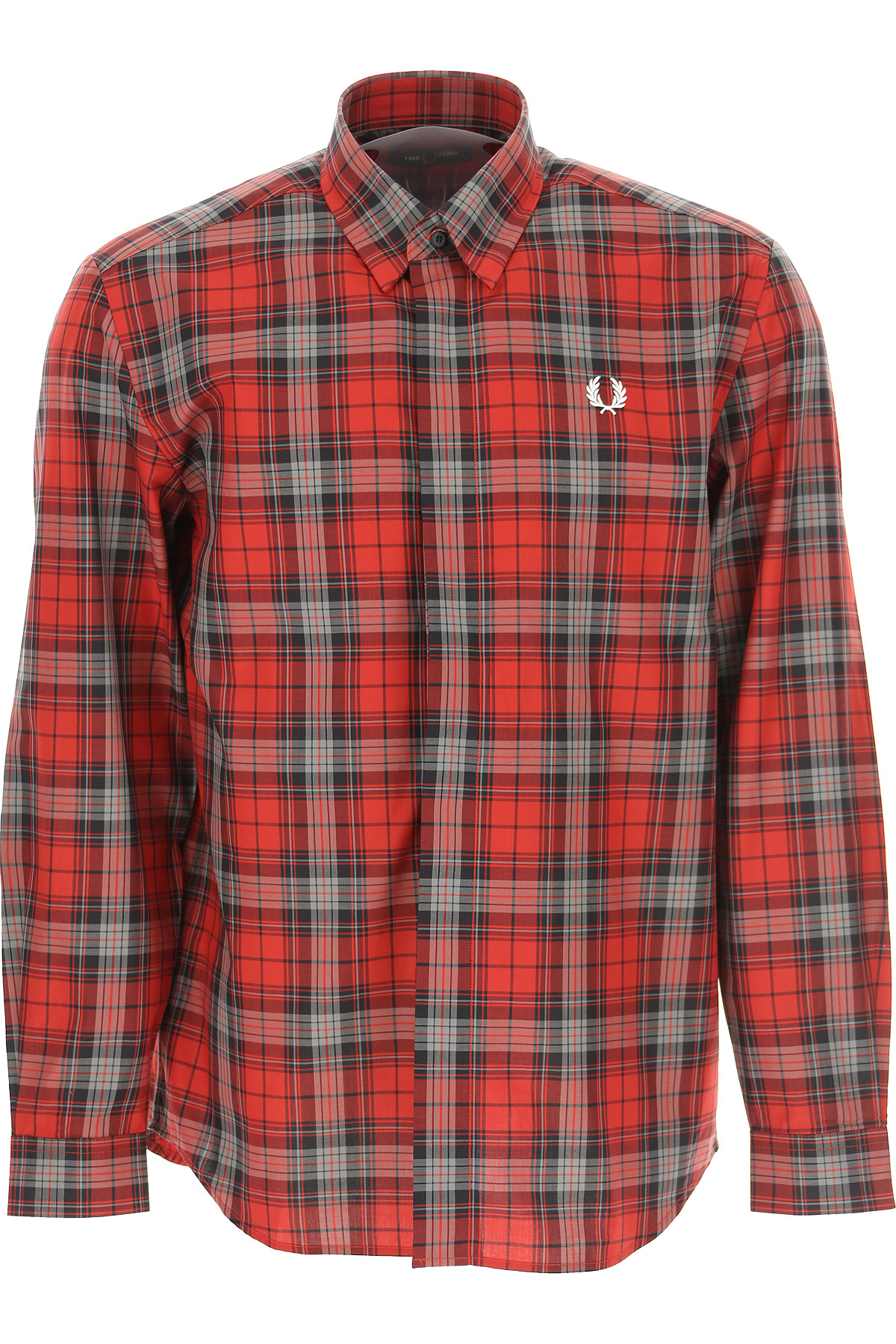 Fred Perry Mens Clothing On Sale, Red, Cotton, 2019, L M XL XXL