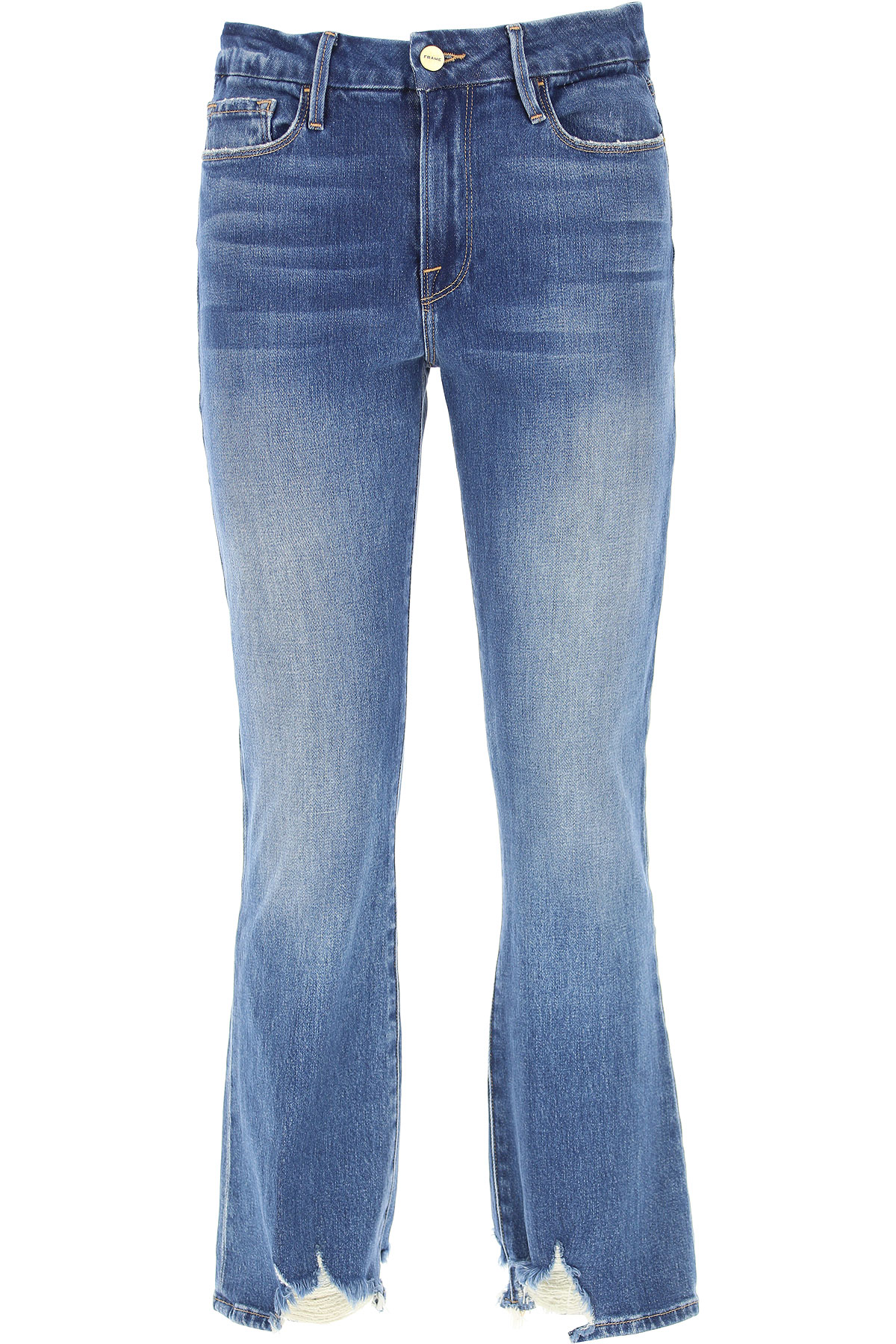 Image of Frame Jeans, Denim, Cotton, 2017, 25 26 27 28 29