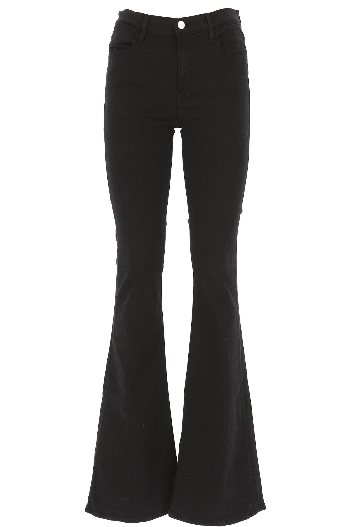 Image of Frame Jeans, Black, Cotton, 2017, 28