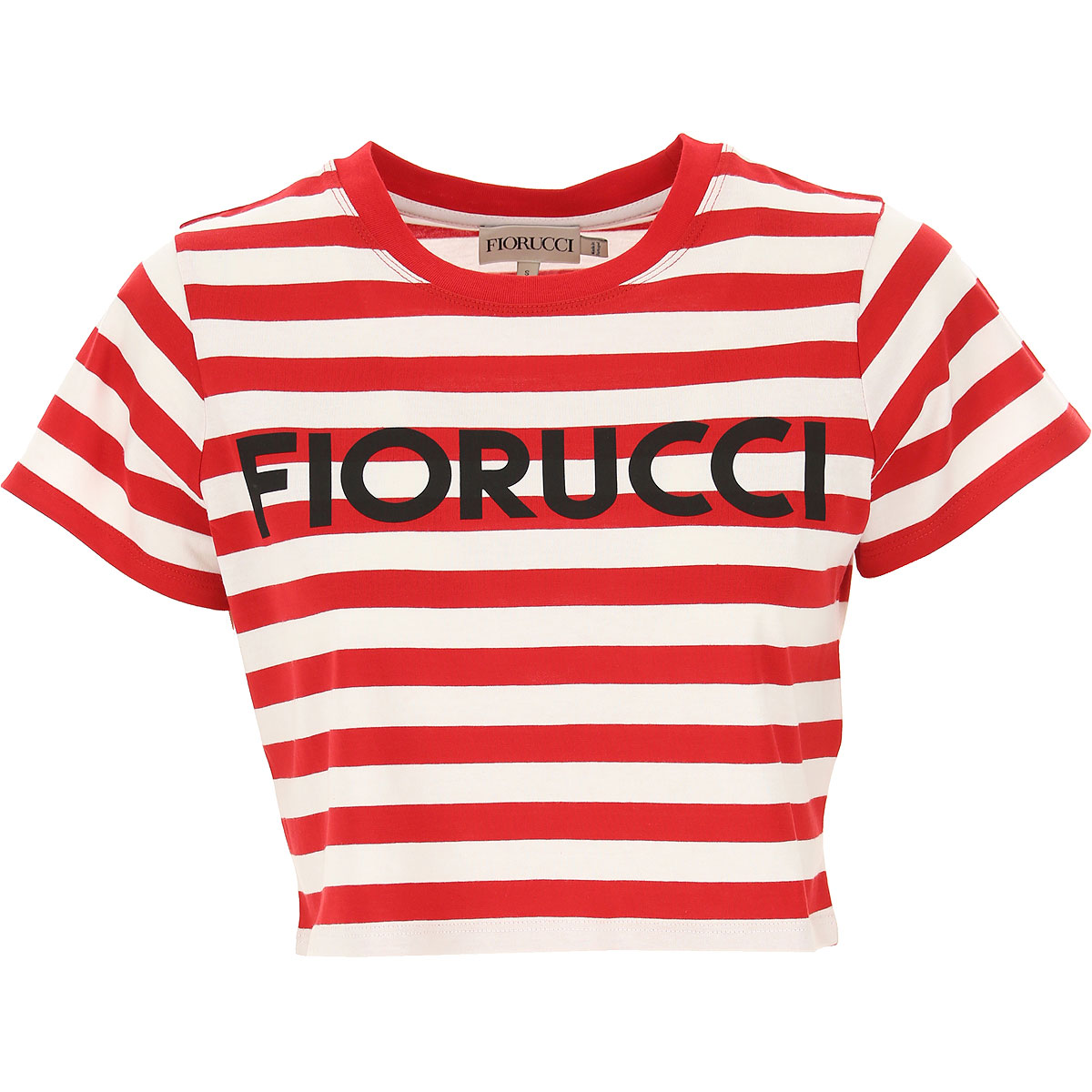 Fiorucci T-Shirt for Women, Red, Cotton, 2019, 2 4 6 8
