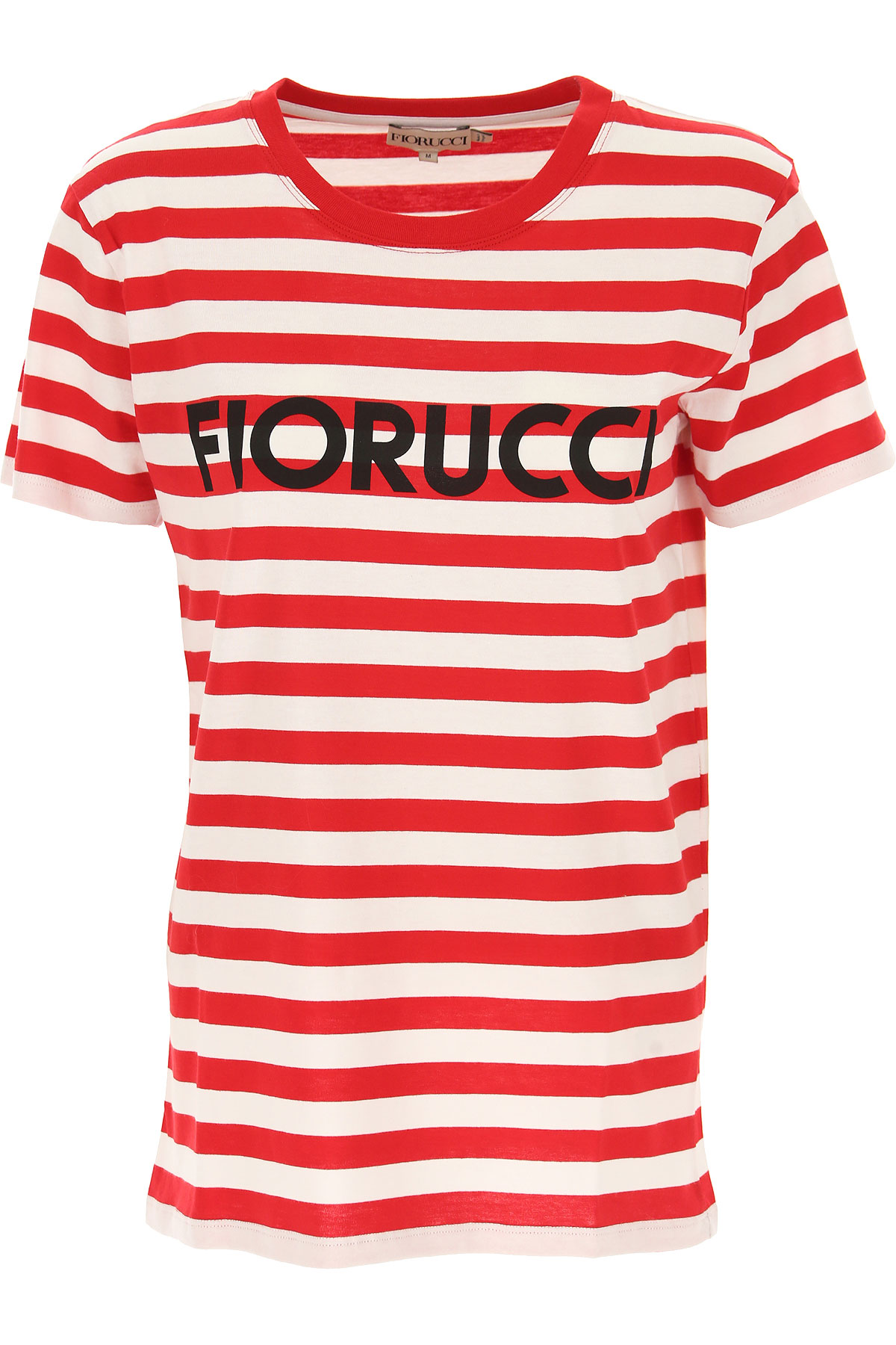 Fiorucci T-Shirt for Women On Sale, Red, Cotton, 2019, 4 6