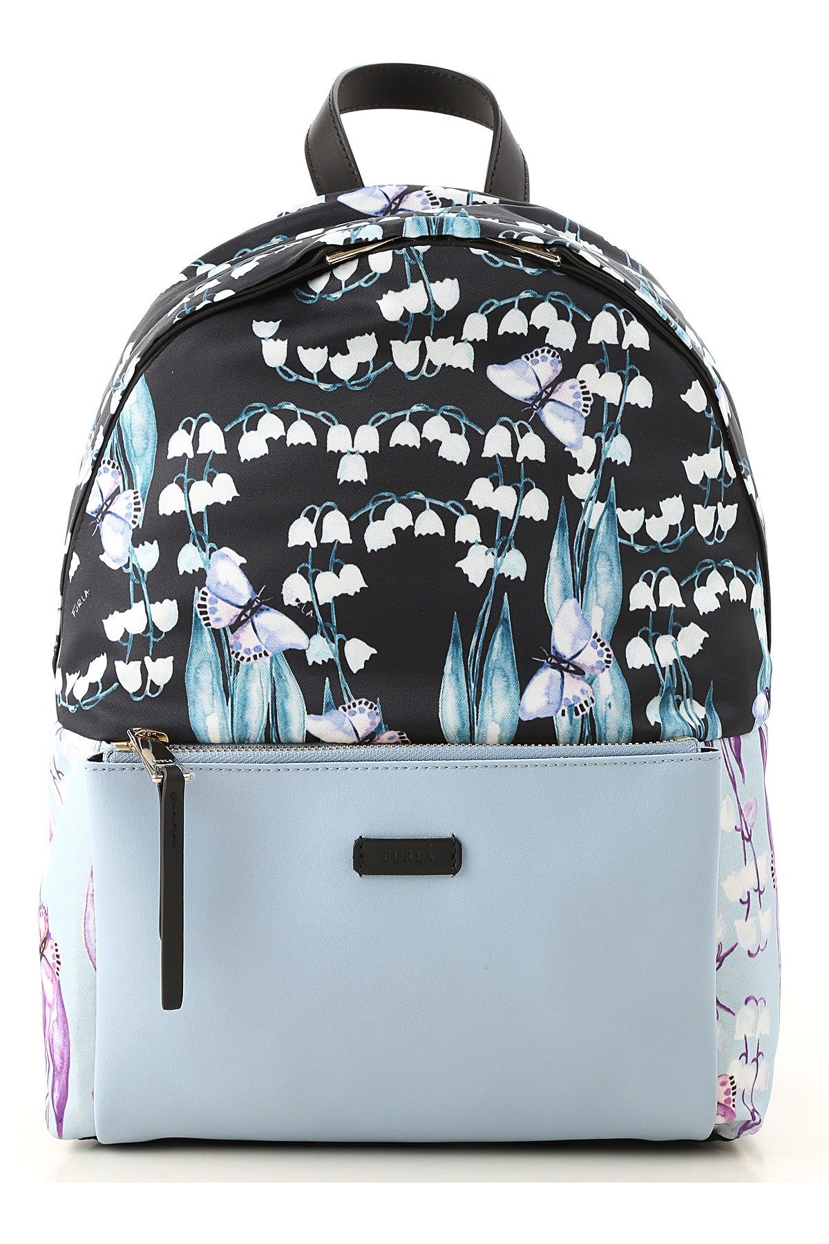 Image of Furla Backpack for Women, Black, Fabric, 2017
