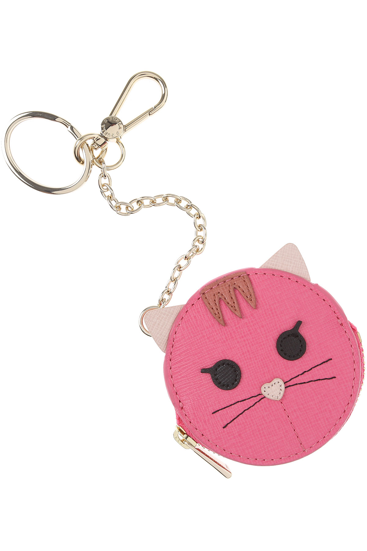 Furla Key Chain for Women, Key Ring On Sale in Outlet, Pink, Leather, 2019