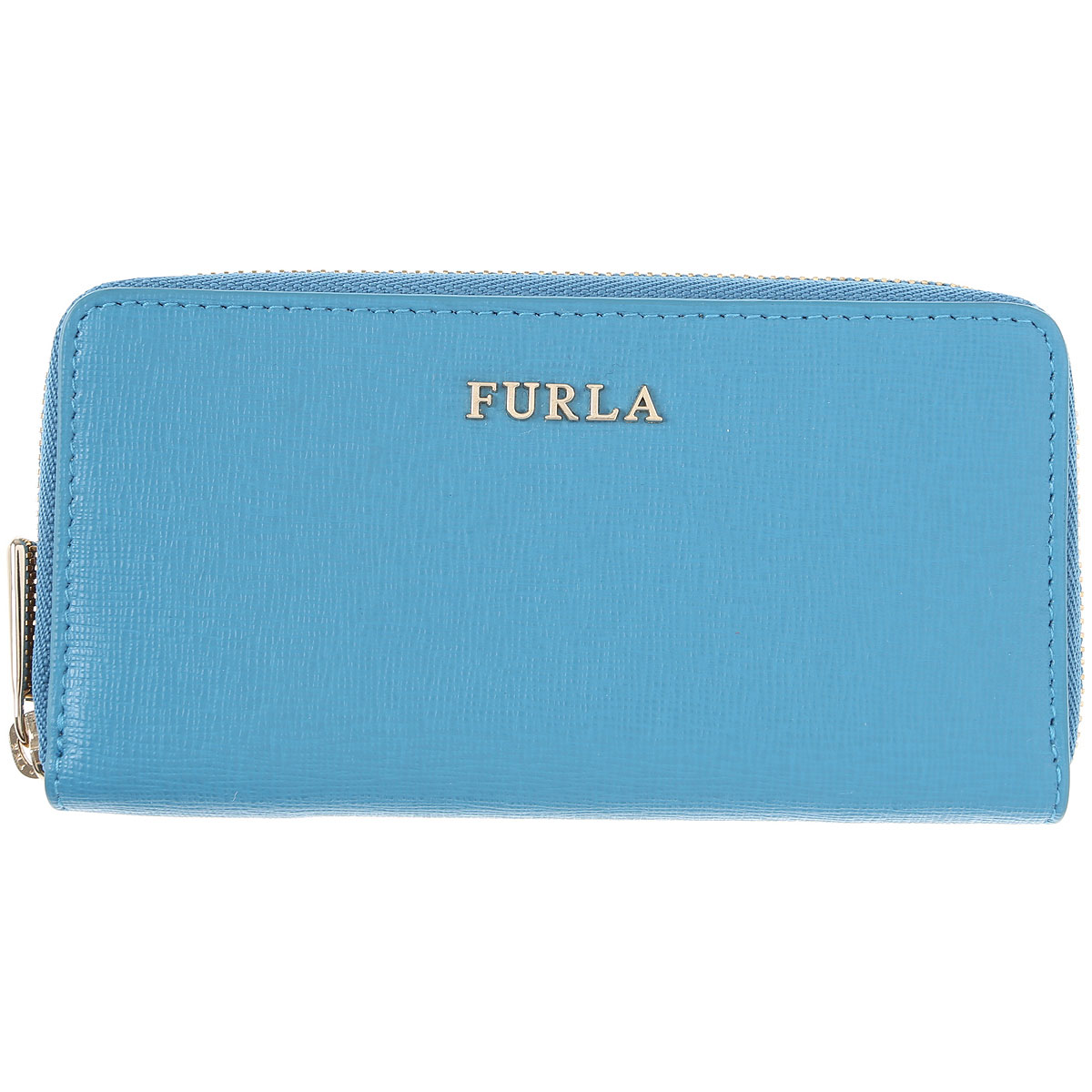 Furla Key Chain for Women, Key Ring On Sale in Outlet, Cobalt Blue, Leather, 2019