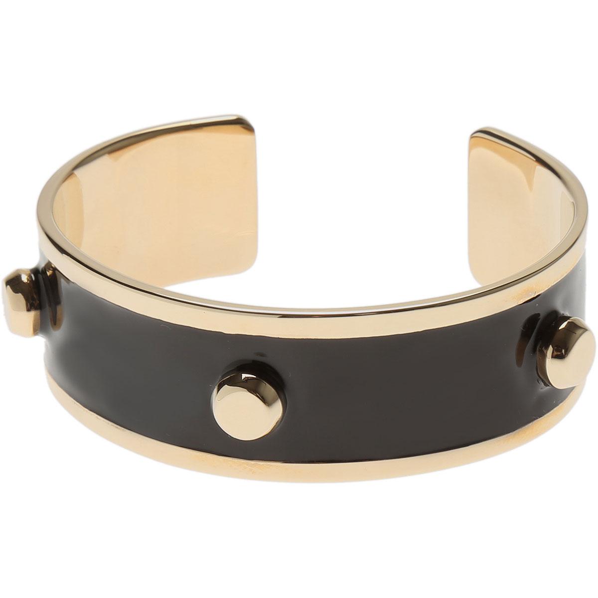 Image of Furla Bracelet for Women, Black, Metal, 2017