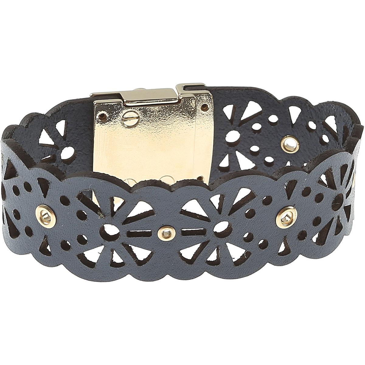 Image of Furla Bracelet for Women On Sale, Avio Blue, Metal, 2017, Small Medium XSmall