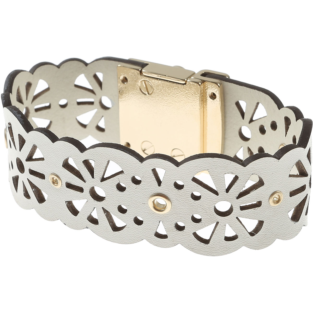 Furla Bracelet for Women On Sale in Outlet, White, Metal, 2019, Small XSmall