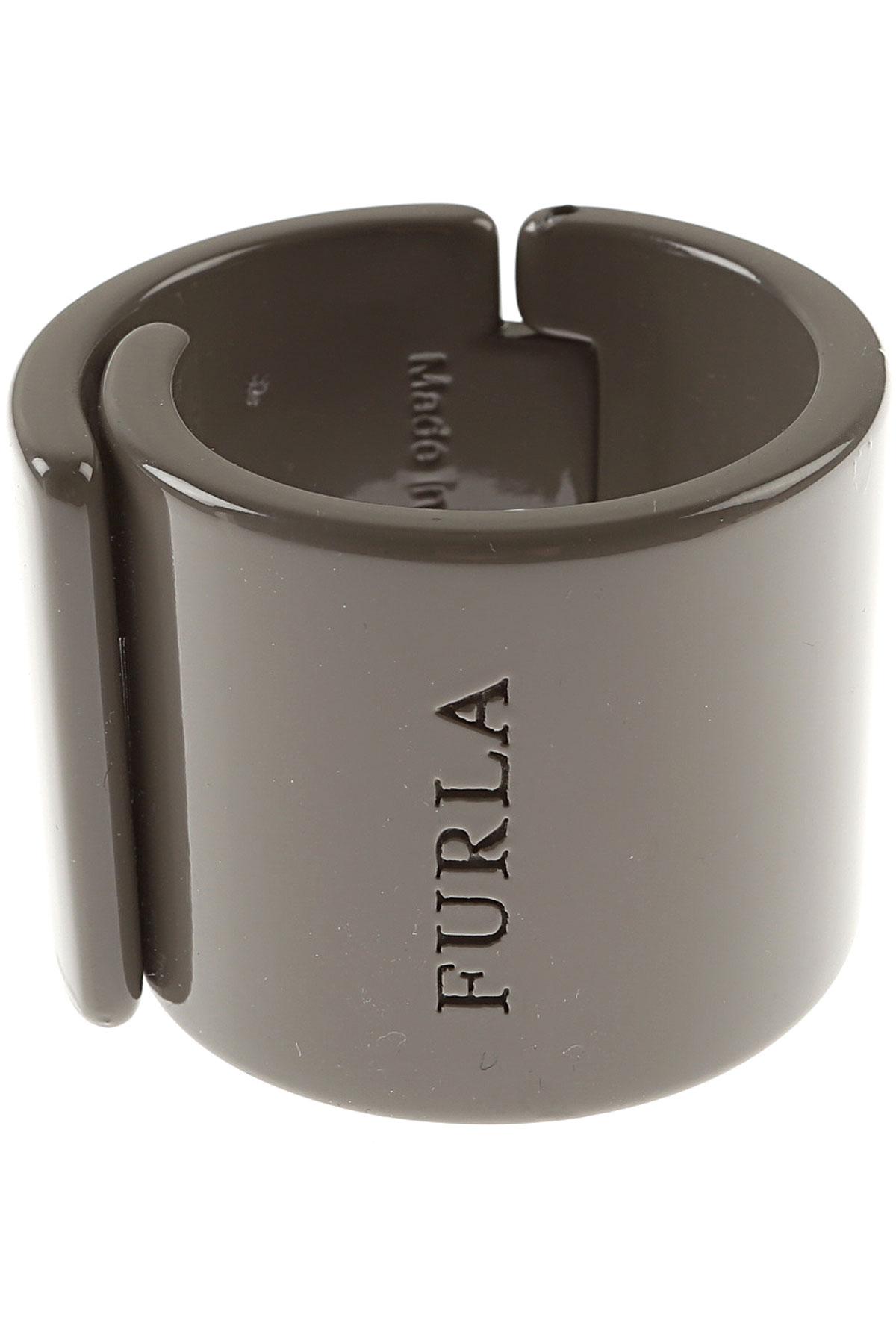 Image of Furla Bracelet for Women On Sale, Clay Grey, Resin, 2017