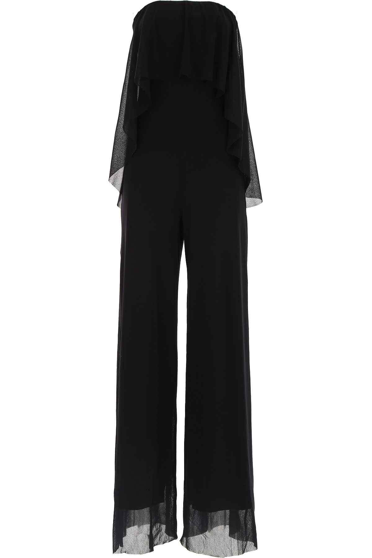 Image of Fuzzi Dress for Women, Evening Cocktail Party On Sale, Black, polyamide, 2017, 4 8