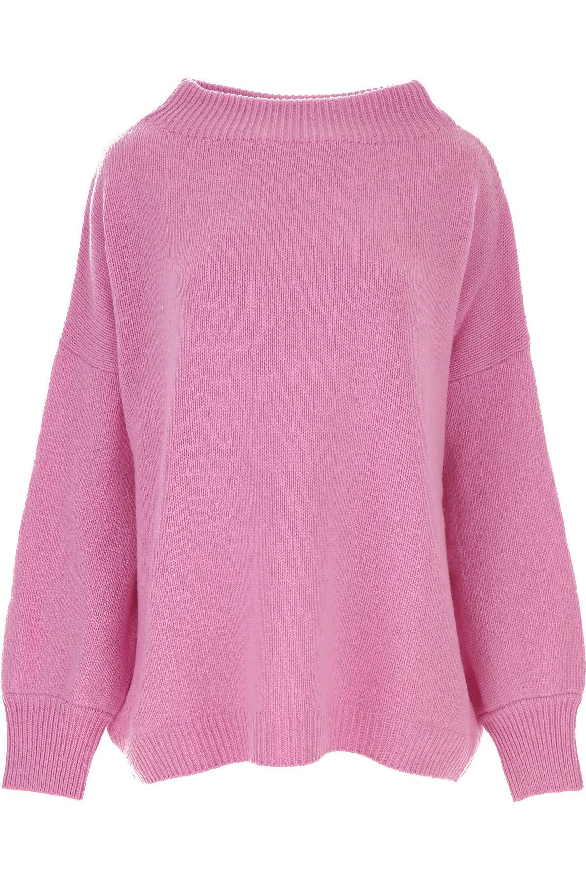 Fuzzi Sweater for Women Jumper On Sale, Pink, Virgin wool, 2019, 6 8