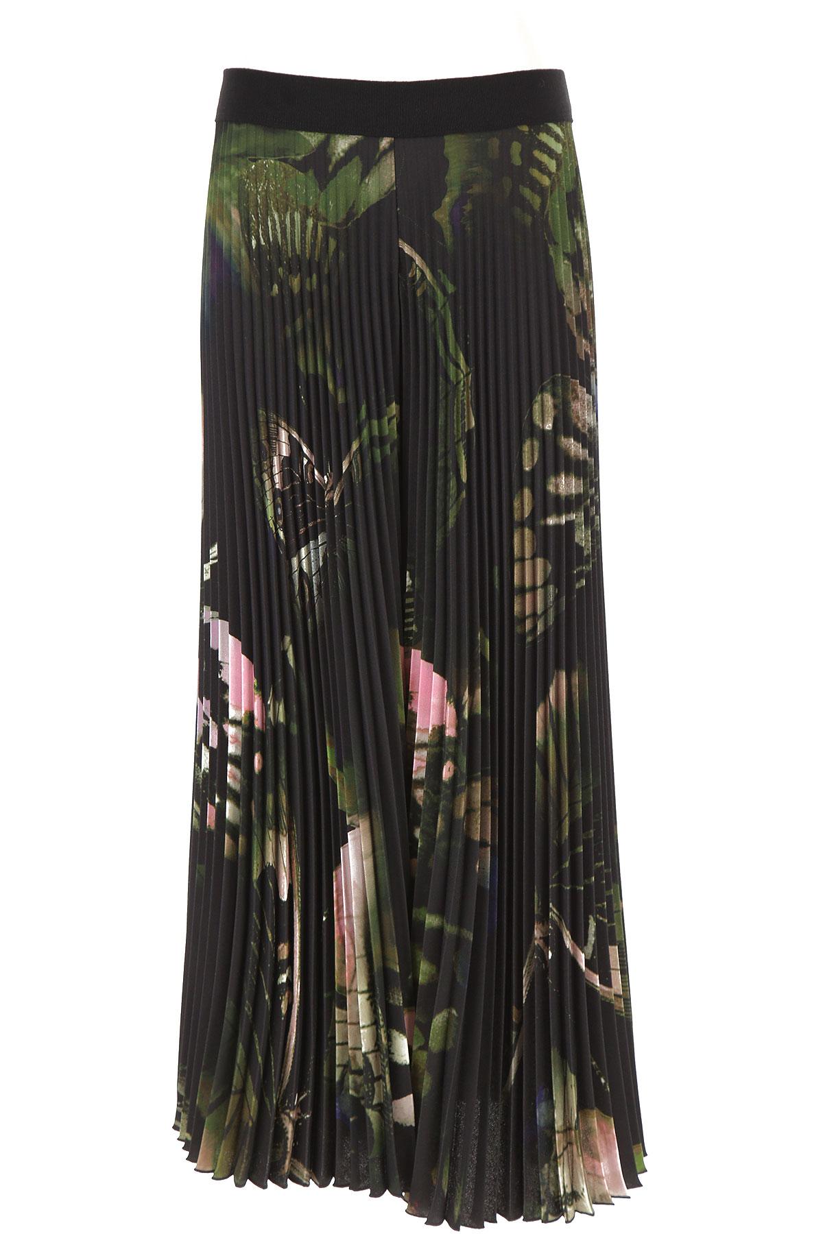 Fuzzi Pants for Women On Sale, Black, polyester, 2019, 26 28