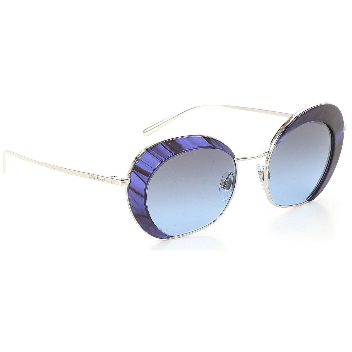 Giorgio Armani Sunglasses On Sale, Silver, 2019