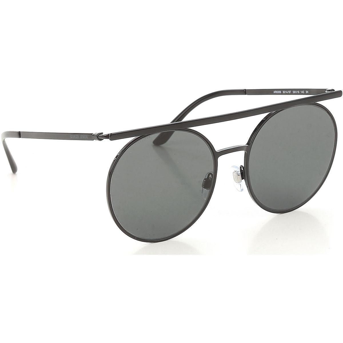 Giorgio Armani Sunglasses On Sale, Black, 2019