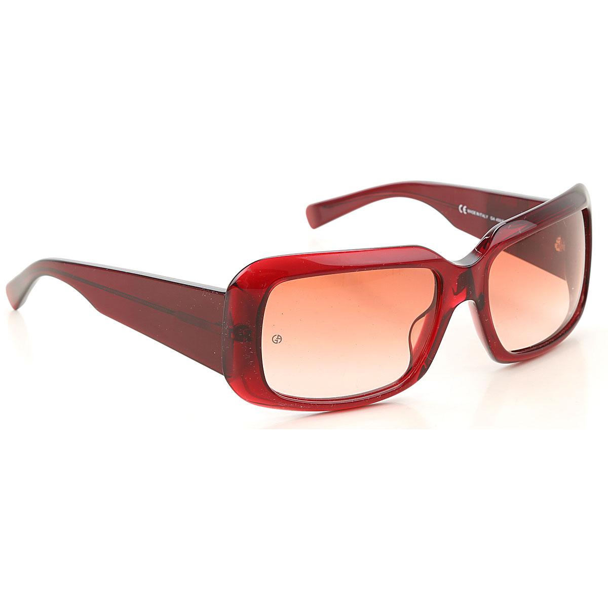 Giorgio Armani Sunglasses On Sale, Burgundy, 2019