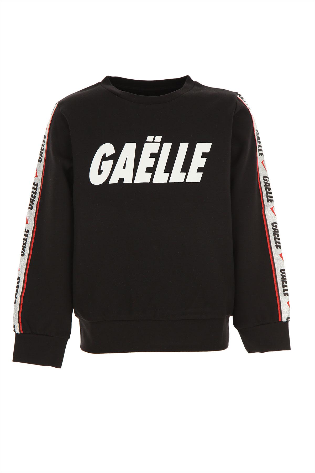 Gaelle Kids Sweatshirts & Hoodies for Girls On Sale, Black, Rayon, 2019, 10Y 12Y 14Y 4Y 6Y 8Y