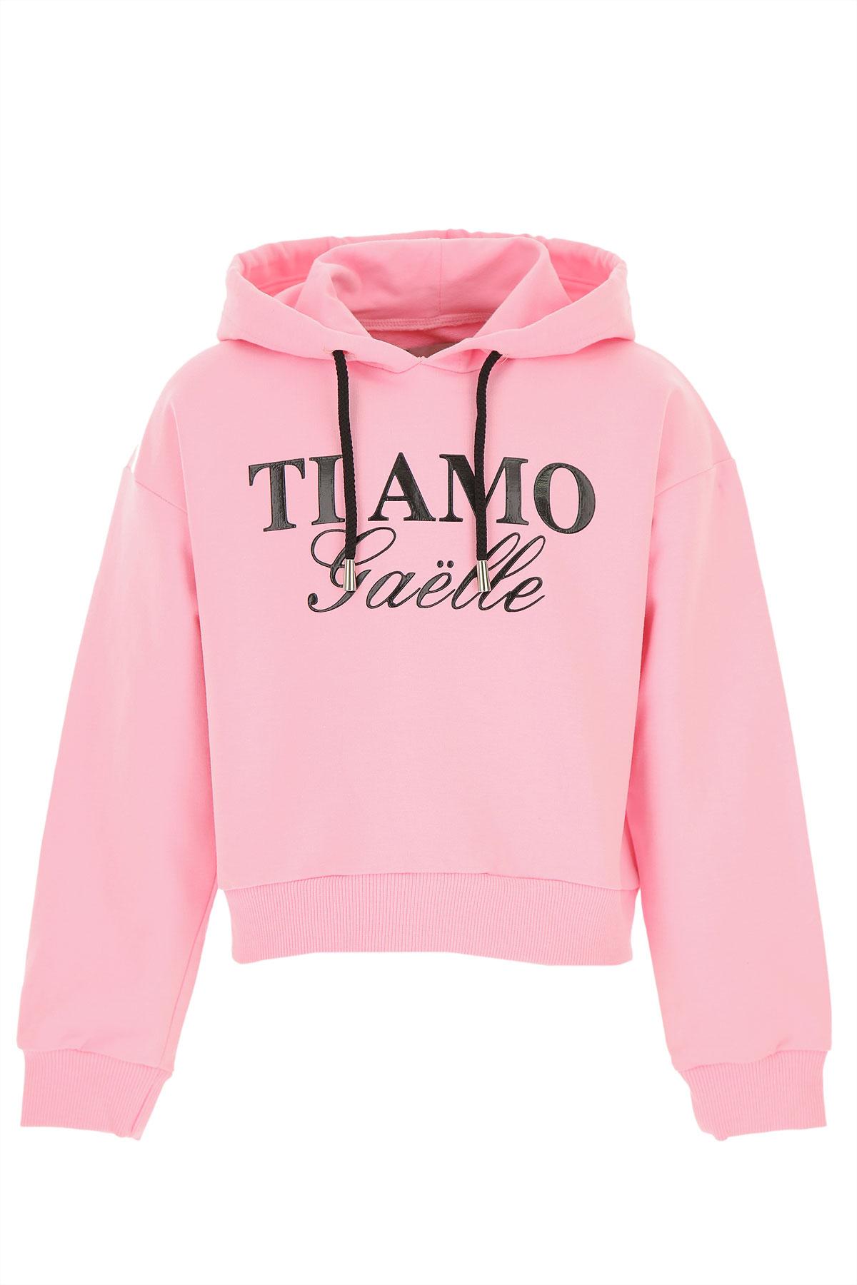 Gaelle Kids Sweatshirts & Hoodies for Girls On Sale, Pink, Cotton, 2019, 12Y 14Y 4Y 6Y 8Y