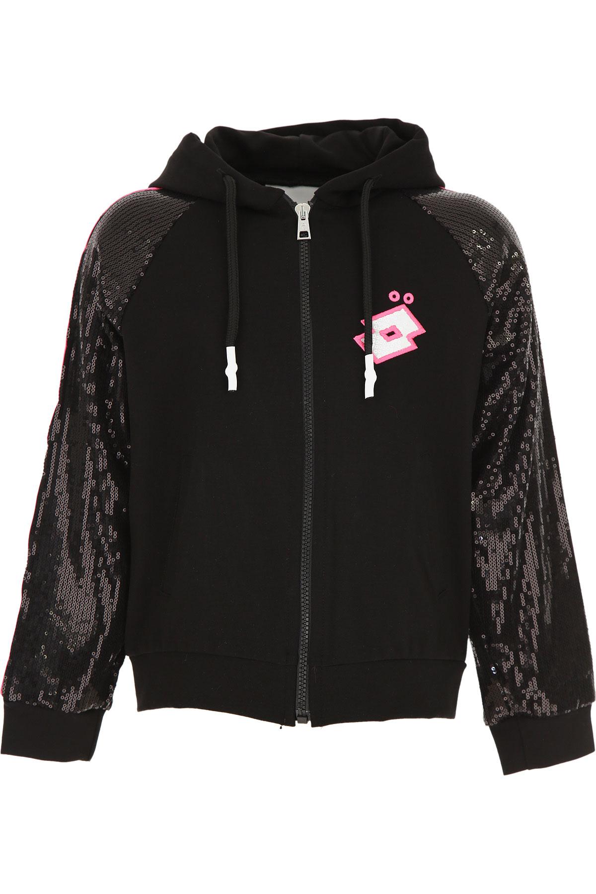 Gaelle Kids Sweatshirts & Hoodies for Girls On Sale, Black, Rayon, 2019, 14Y 4Y