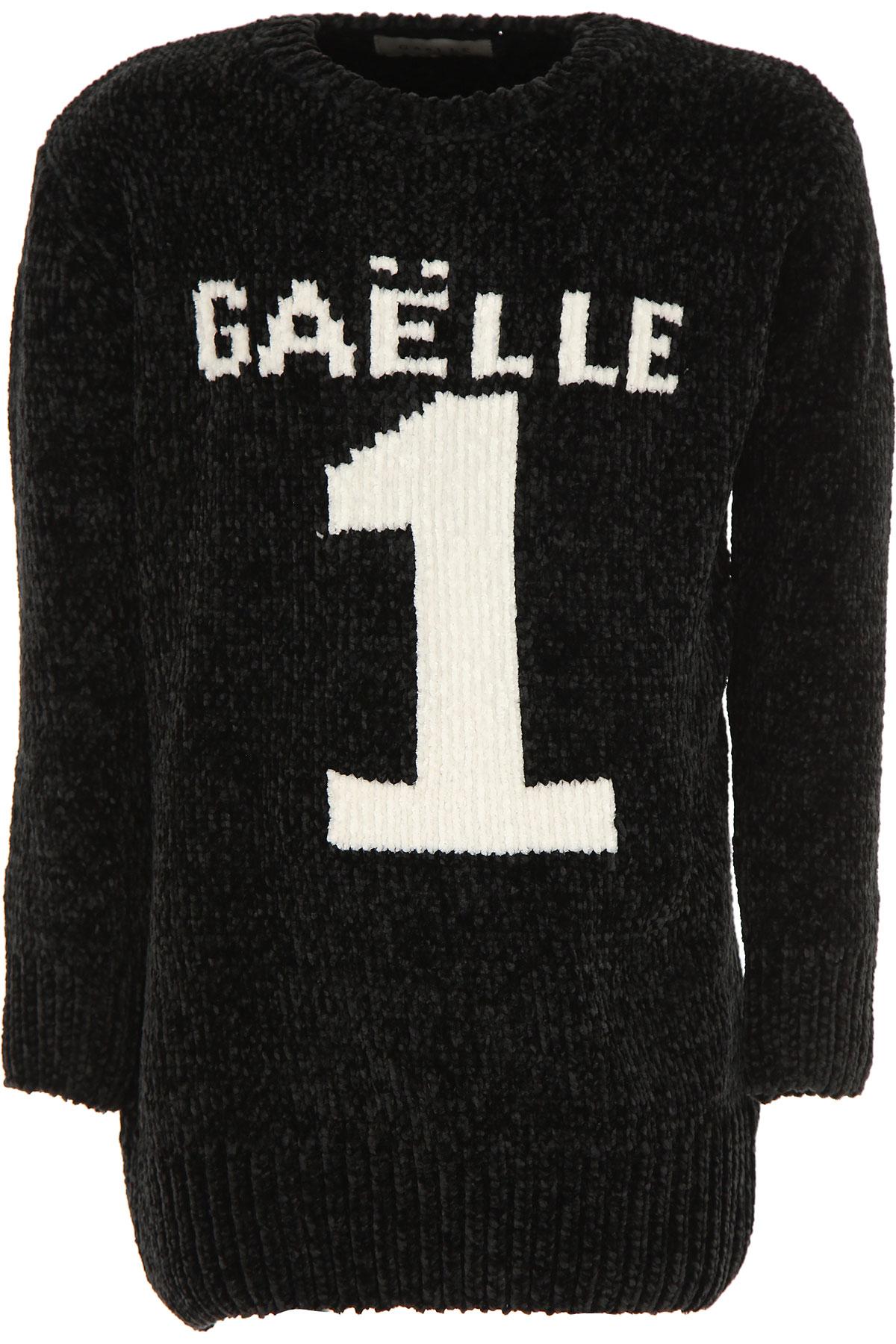 Gaelle Kids Sweaters for Girls On Sale, Black, Viscose, 2019, 10Y 12Y 14Y 16Y 6Y 8Y