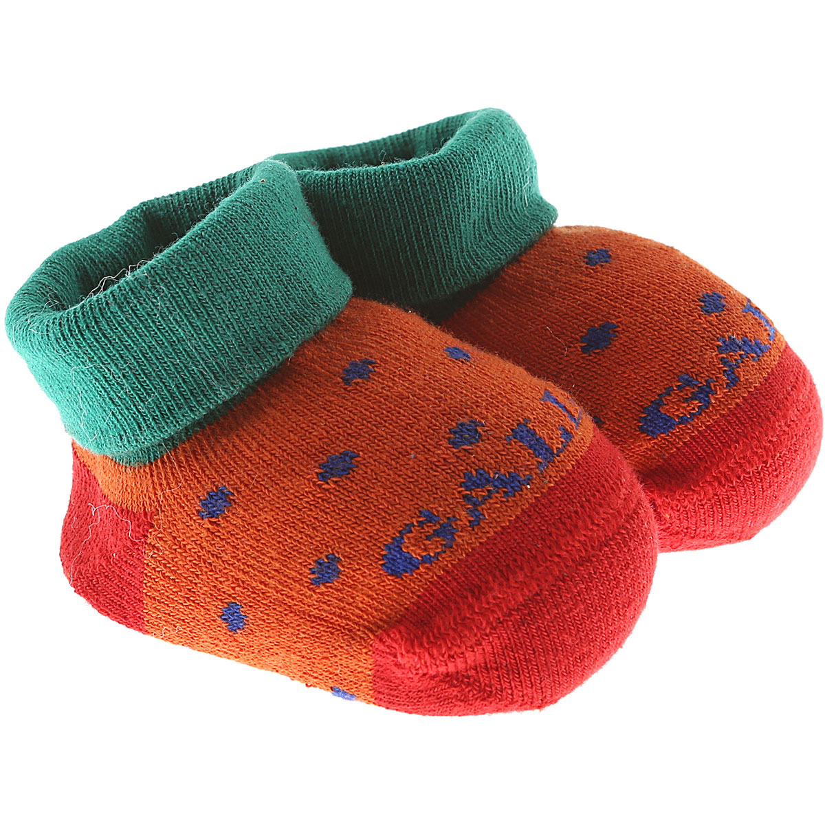 Gallo Baby Shoes for Girls On Sale in Outlet, Orange, Cotton, 2019