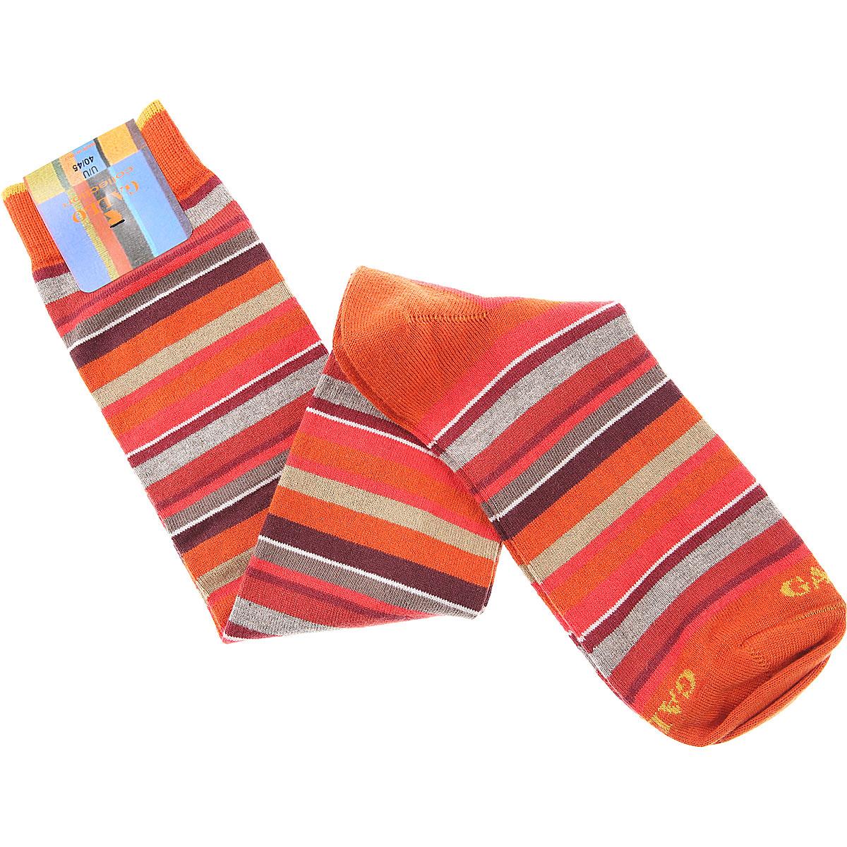 Gallo Socks Mens Underwear On Sale, Orange, Cotton, 2019