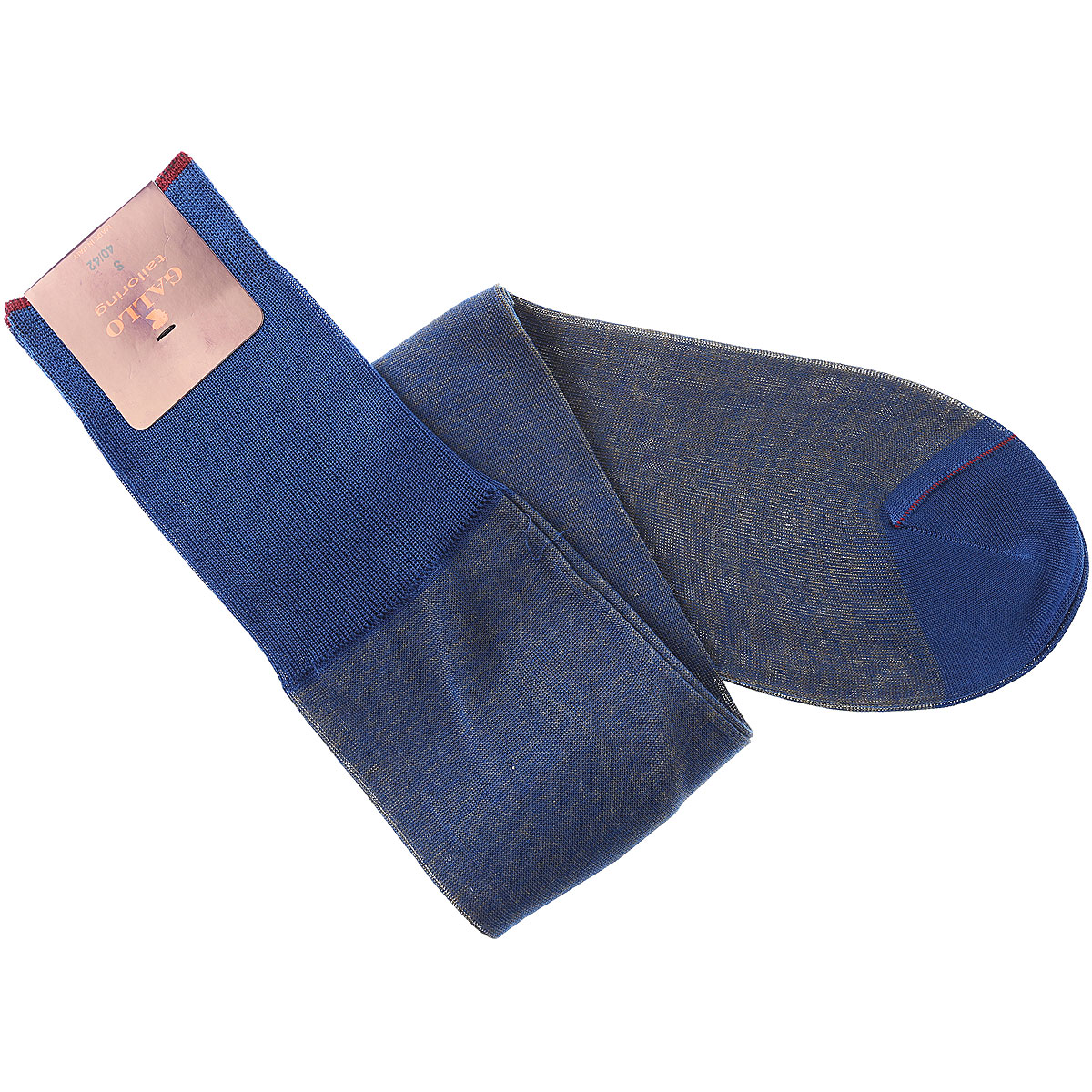 Gallo Socks Socks for Men, Cosmos Blue, Cotton, 2019, S L