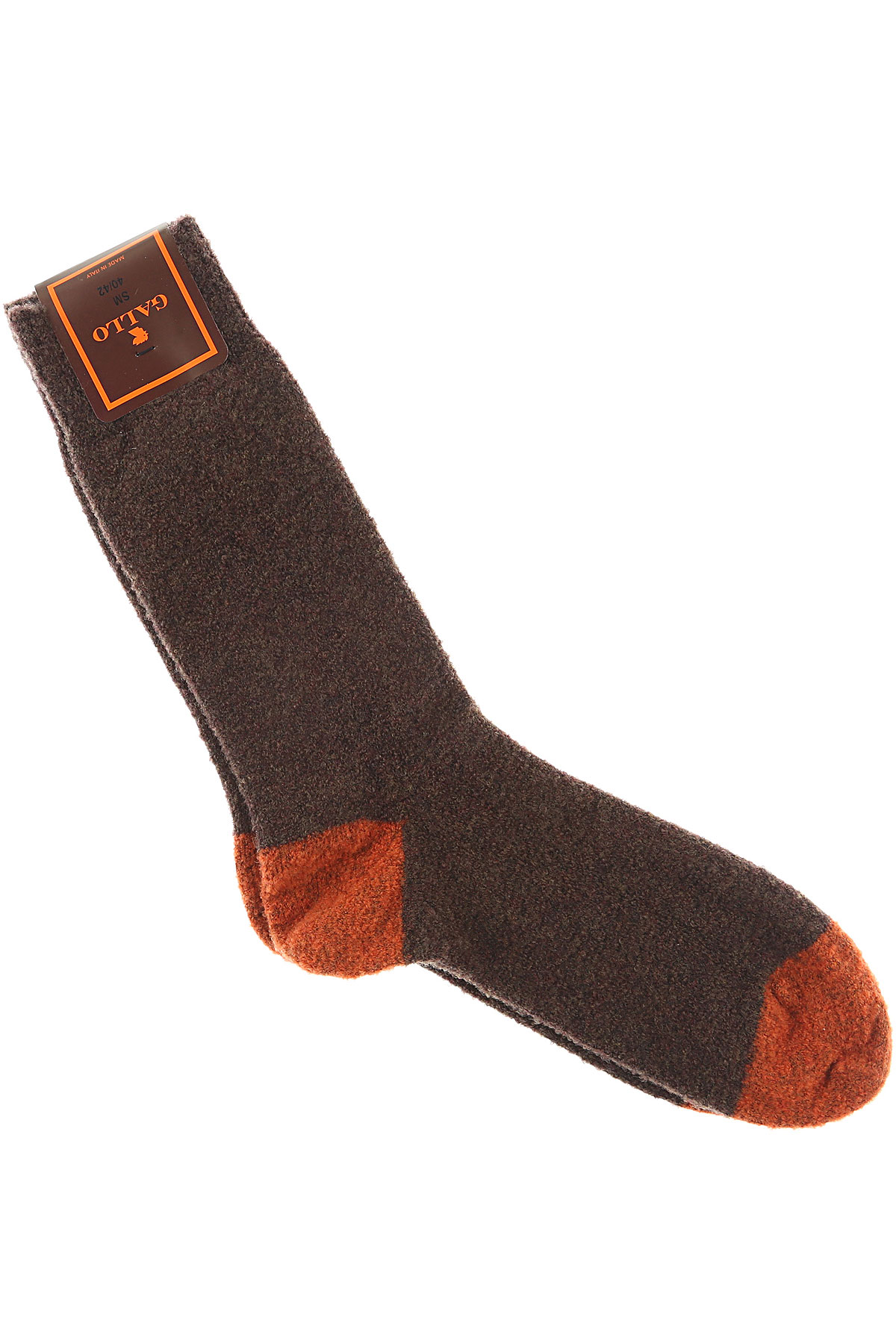 Image of Gallo Socks Mens Underwear, Brown, Wool, 2017, S - M L - XL