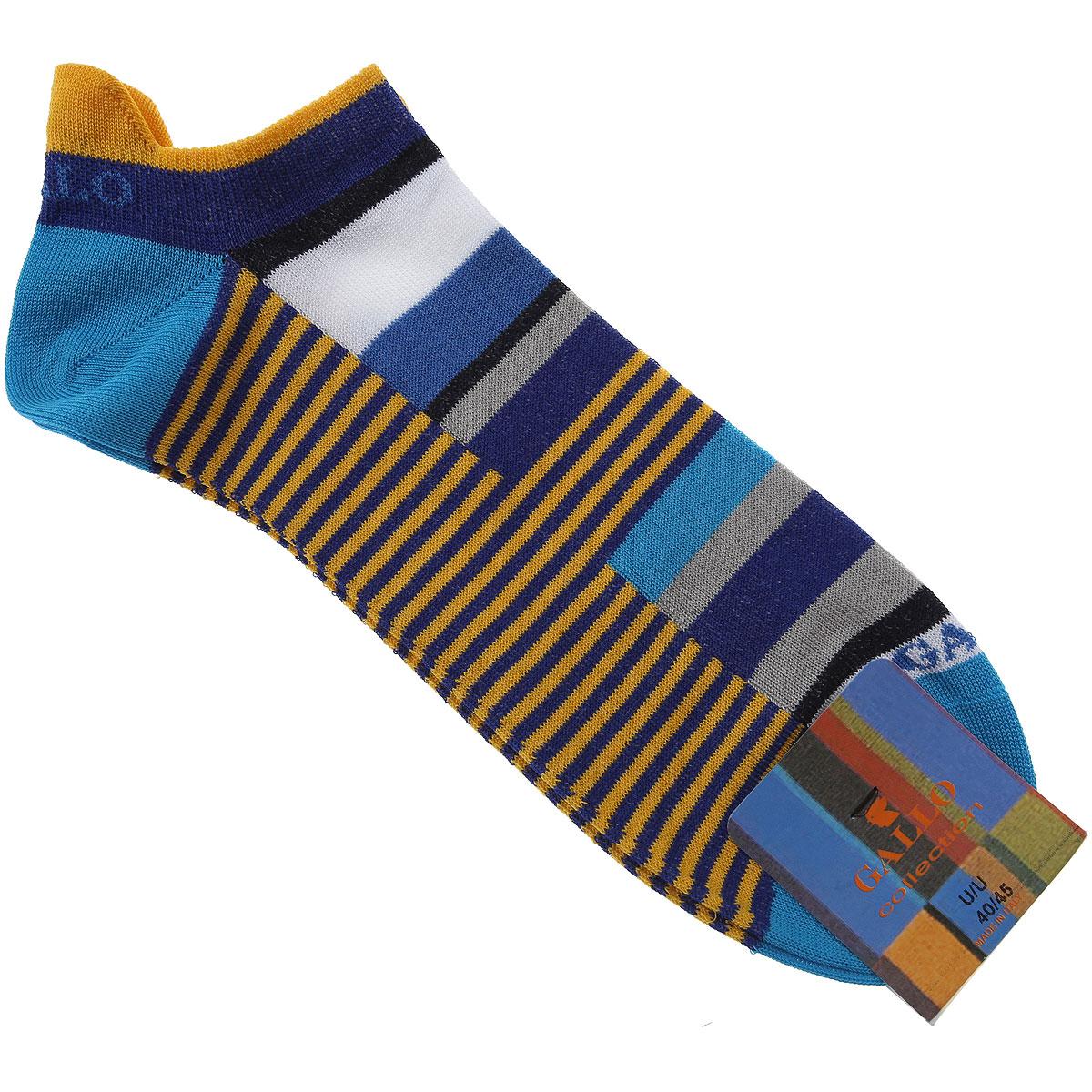 Gallo Socks Socks for Men On Sale, Bluette, Cotton, 2019