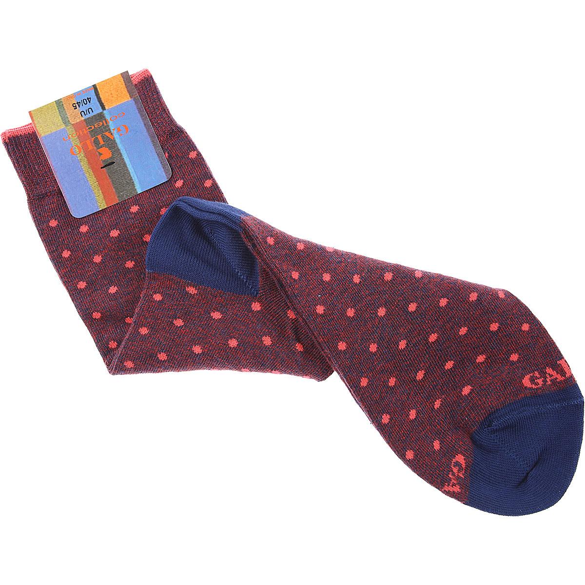 Gallo Socks Socks for Men, Burgundy, Cotton, 2019