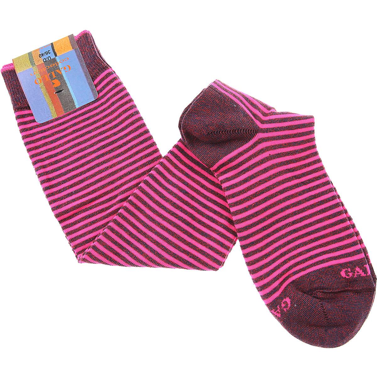 Gallo Socks Mens Underwear, Fluo Pink, Cotton, 2019
