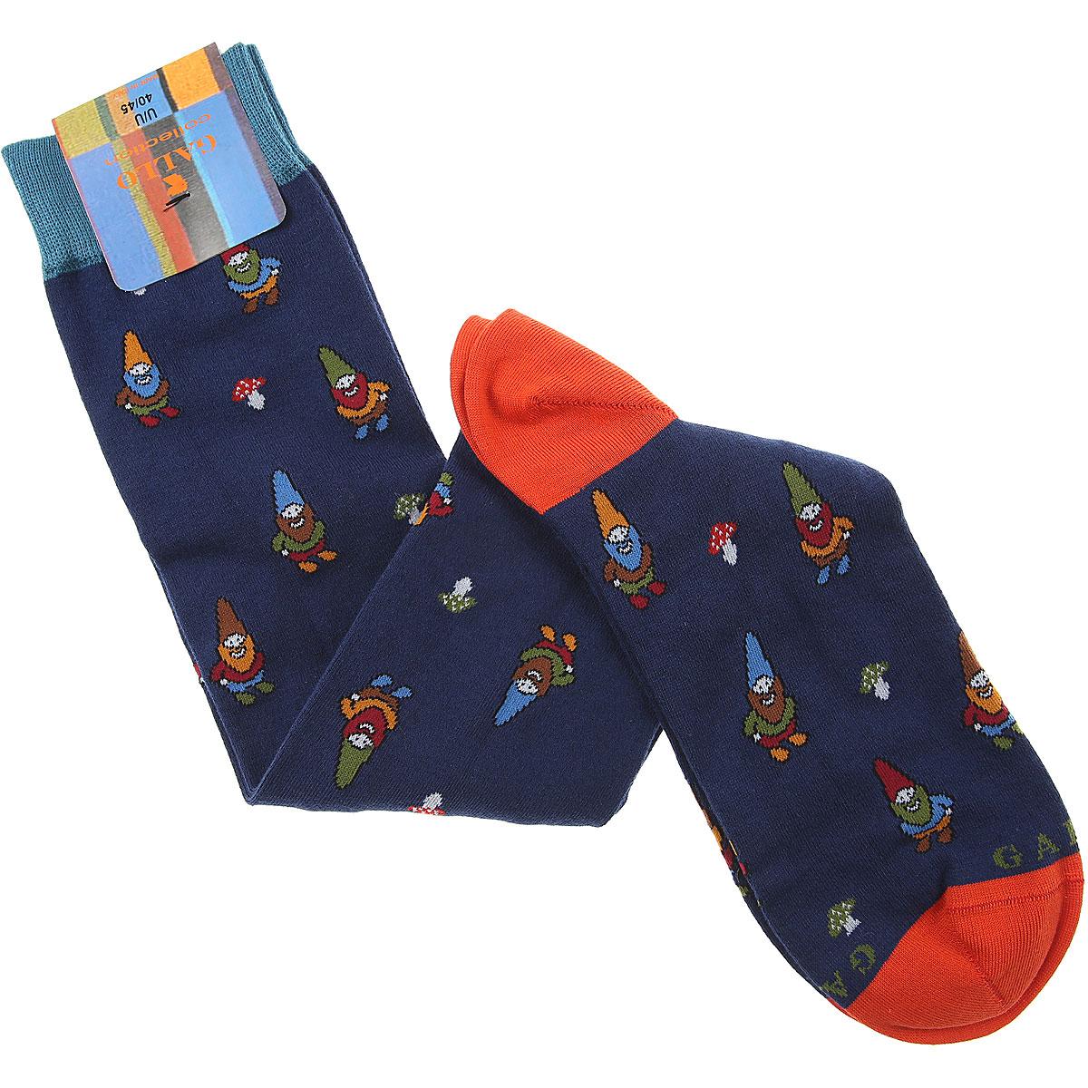 Gallo Socks Socks for Men On Sale, Dark Blue, Cotton, 2019