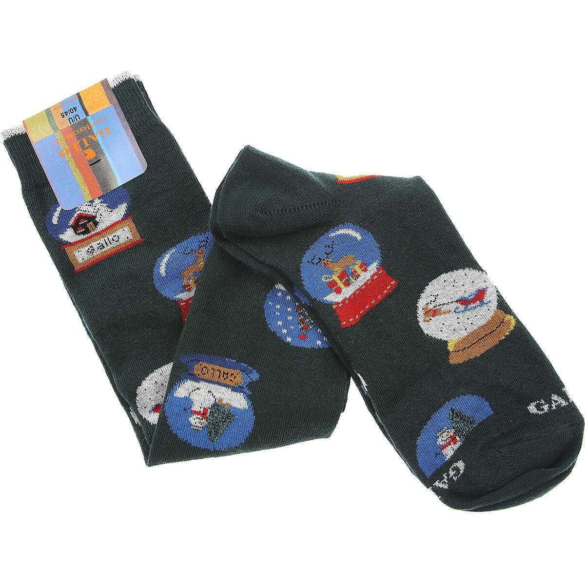 Gallo Socks Socks for Men On Sale, dark Loden Green, Cotton, 2019